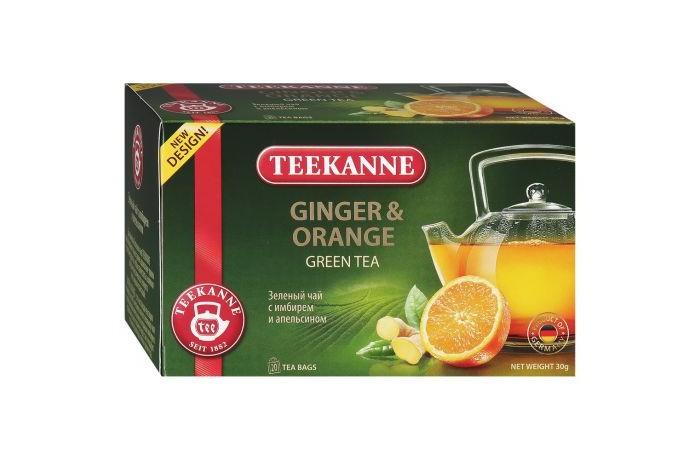 Чай Teekanne Чай зеленый Ginger-Orange 20 пак.