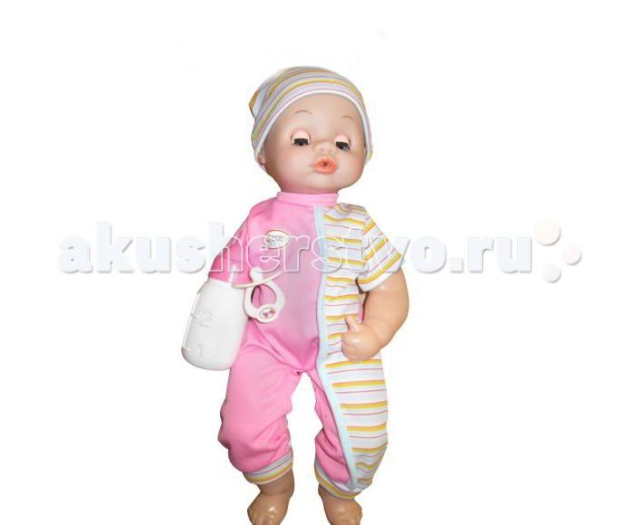 Куклы и одежда для кукол Shantou Gepai Пупс 38 см функциональный нтм кукла пупс с бутылочкой и соской