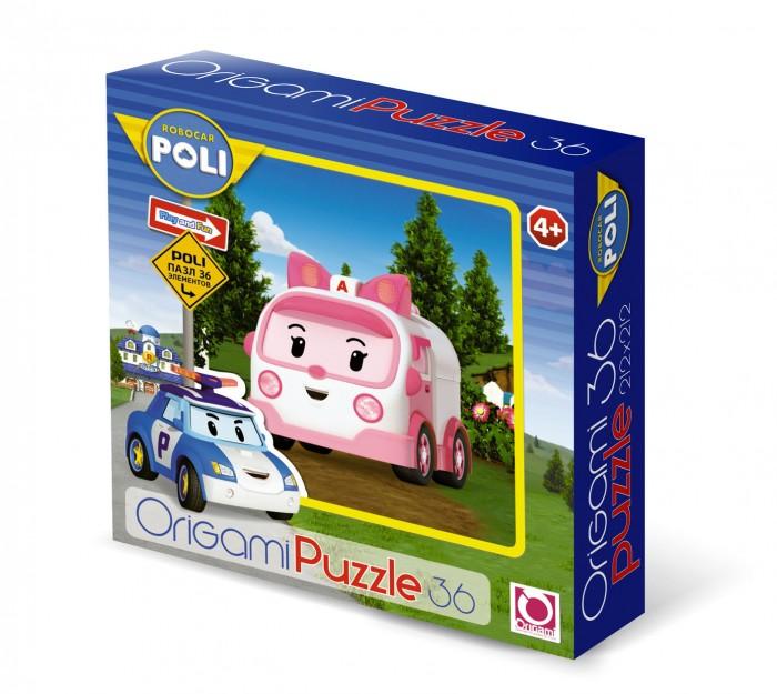 Пазлы Origami Пазл Robocar 36 элементов 00167
