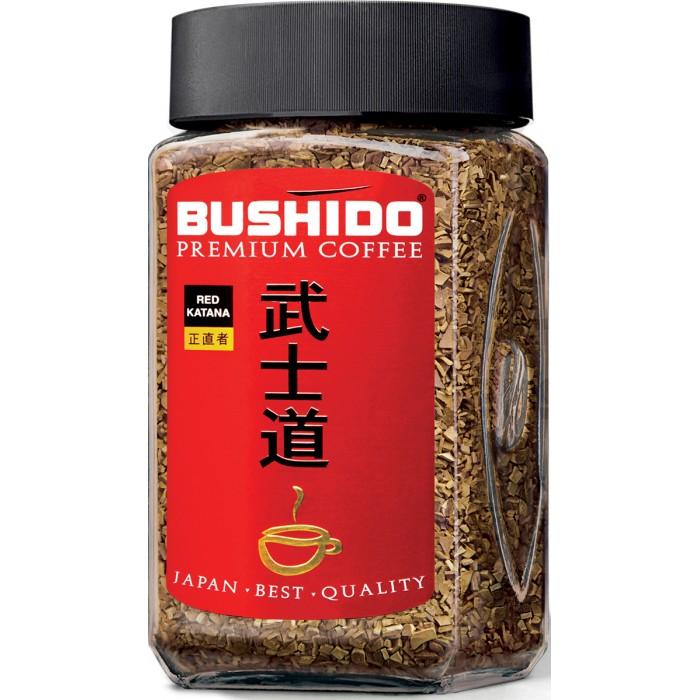Купить Bushido Кофе растворимый сублимированный Red Katana 100 г