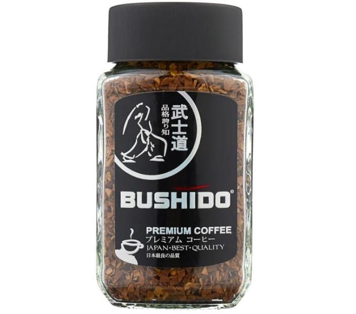 Кофе Bushido Кофе растворимый сублимированный Black Katana 50 г палантин michel katana michel katana mp002xw13lci