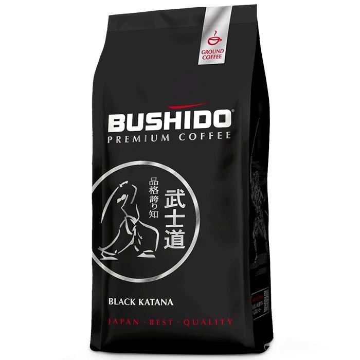 Кофе Bushido Кофе молотый Black Katana 227 г палантин michel katana michel katana mp002xw13lci