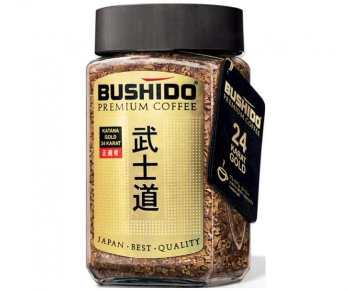 Bushido Кофе растворимый сублимированный Katana Gold 24 Karat 100 г фото