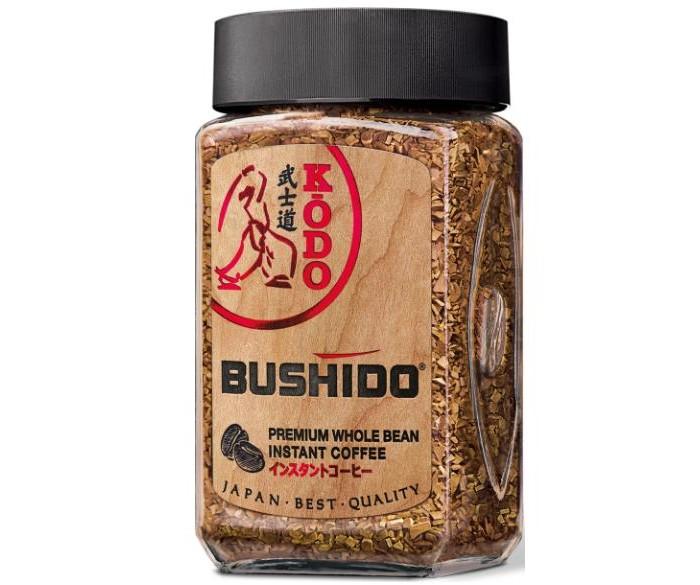 Bushido Кофе растворимый с молотым Kodo 95 г  - купить со скидкой