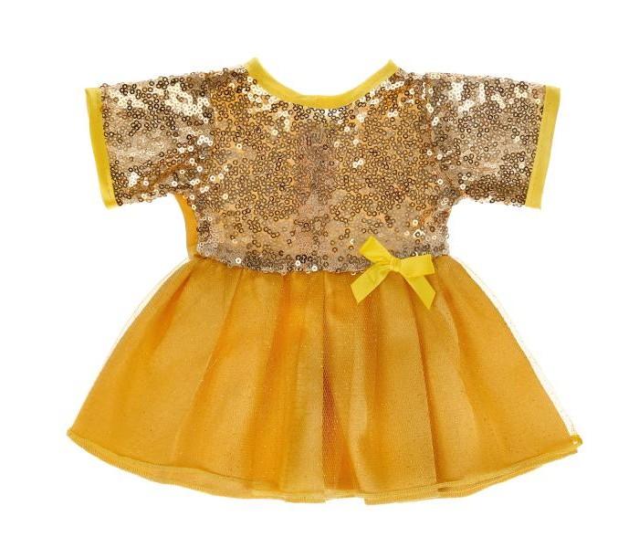 Купить Куклы и одежда для кукол, Карапуз Одежда для кукол Платье с пайетками 40-42 см