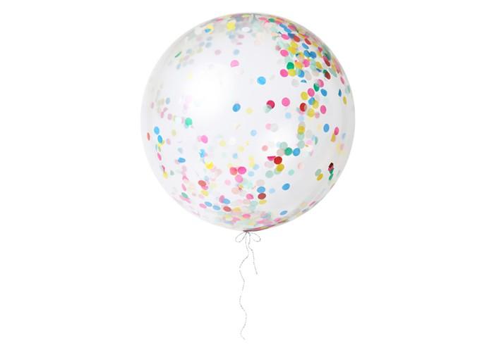 Товары для праздника MeriMeri Воздушные шары с яркими конфетти большие