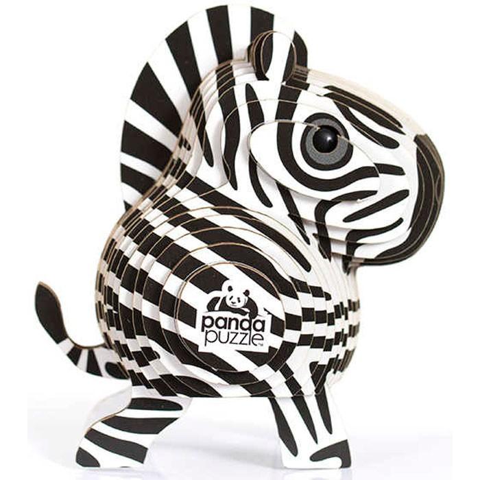 Сборные модели Panda Puzzle 3D пазл Зебра