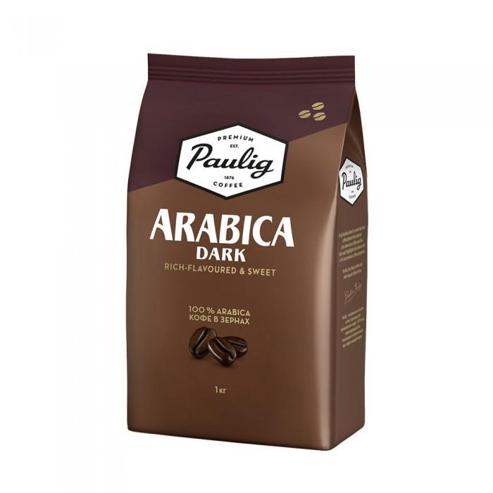 Paulig Кофе Arabica Dark зерно 1 кг
