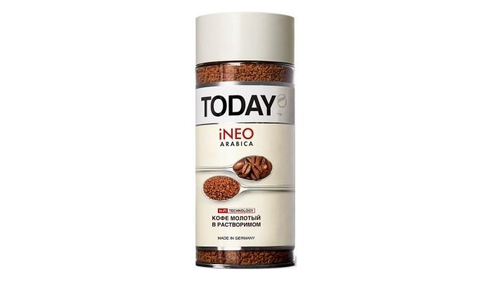 Кофе Today молотый в растворимом iNEO Arabica 95 г