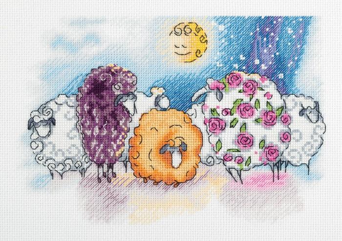 Наборы для вышивания Klart Набор для вышивания Мечтательницы