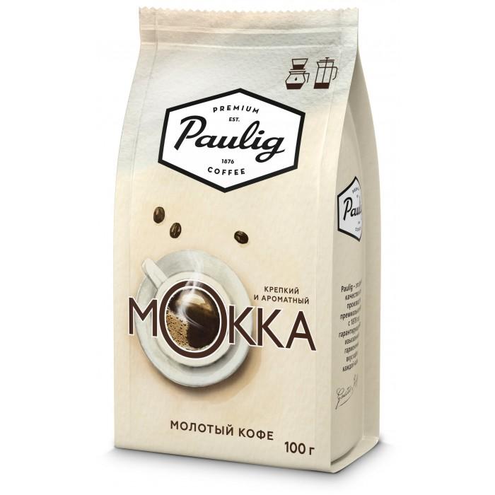 Кофе Paulig Кофе Mokka молотый 100 г кофе paulig mokka молотый для чашки 250г