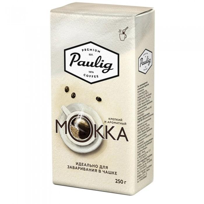 Кофе Paulig Кофе Mokka молотый для чашки 250 г кофе paulig mokka молотый для чашки 250г