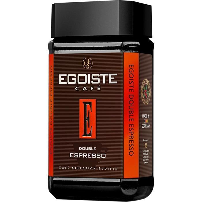 Купить Egoiste Кофе растворимый сублимированный Double Espresso 100 г