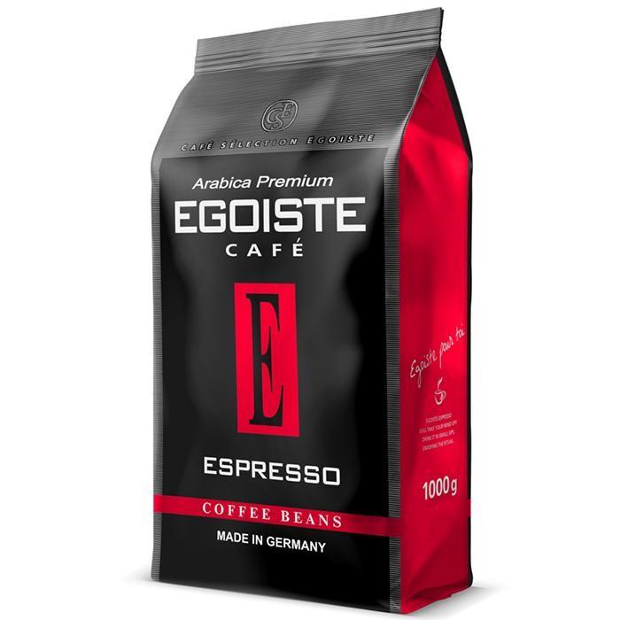 Кофе Egoiste Кофе в зернах Espresso 1000 г кофе в зернах сокровища кофейных плантаций папуа новая гвинея арабика 1000 г