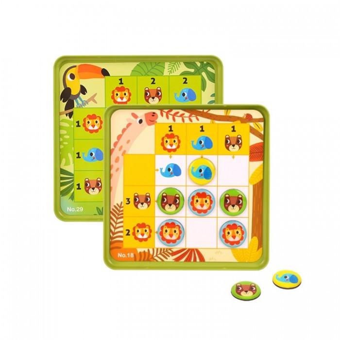 Tooky Toy Магнитная игра-судоку Лесные жители