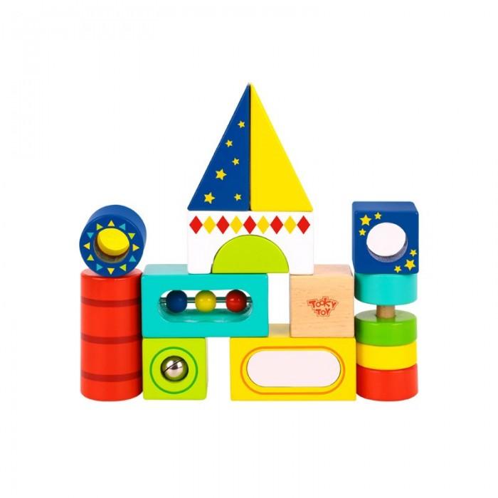 Деревянная игрушка Tooky Toy Набор кубиков 50 шт.