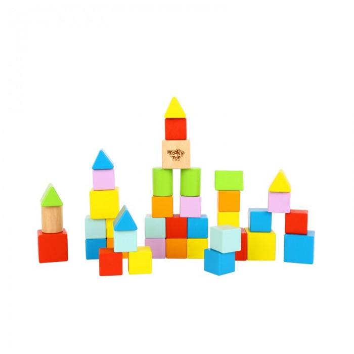 Деревянная игрушка Tooky Toy Набор кубиков 39 шт.