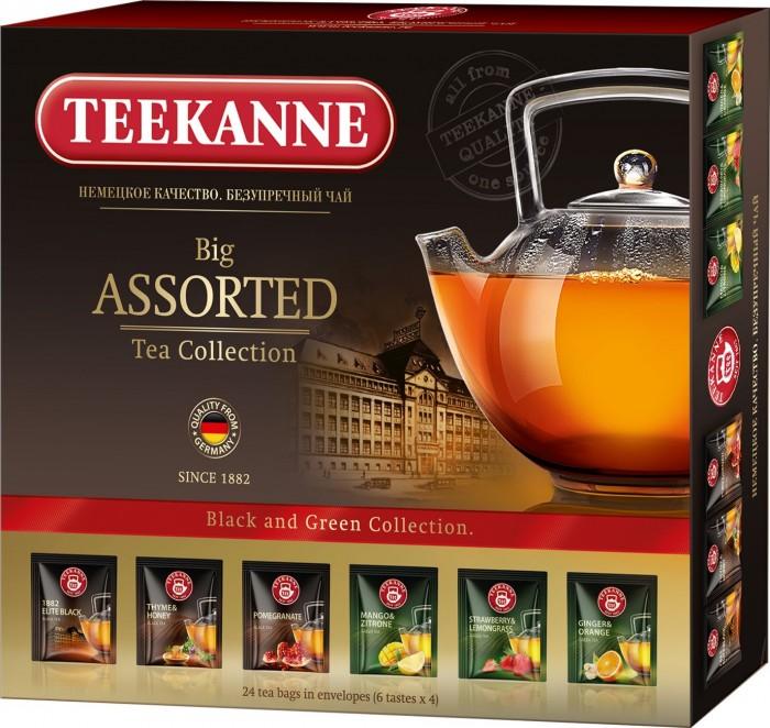 Чай Teekanne Чайный набор Ассорти 24 пак.