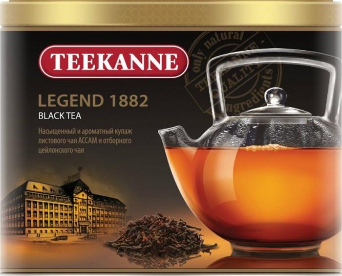 Чай Teekanne Чай черный листовой Legend 1882 чай черный teekanne черная смородина гранат листовой 150 г