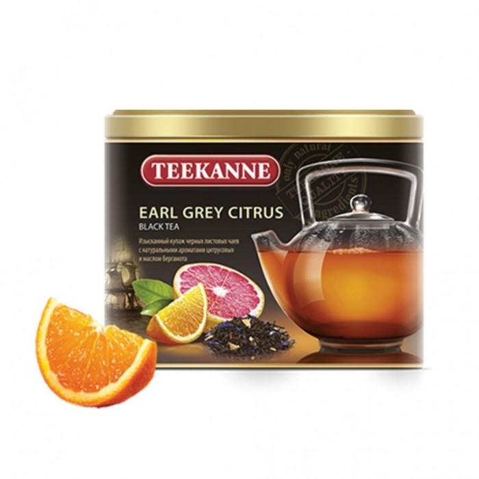 Чай Teekanne Чай черный ароматизированный листовой Erl Gray 150 г чай листовой gutenberg марокканский апельсин черный ароматизированный 500 г
