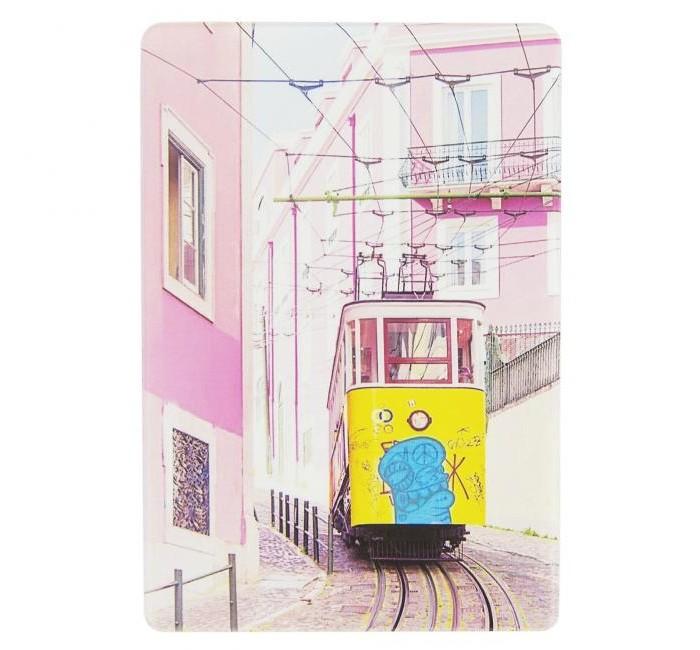 Канцелярия Kawaii Factory Держатель для проездного Трамвай