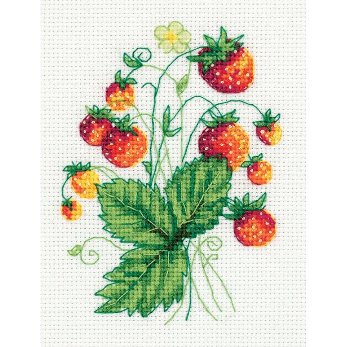 Фото - Наборы для вышивания Klart Набор для вышивания Земляника набор для вышивания acufactum осенние