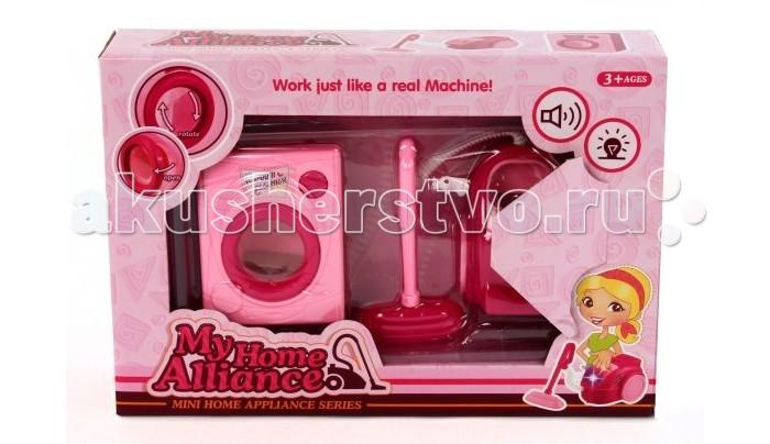 Ролевые игры Shantou Gepai Набор домашней техники стиральная машинка малютка москва
