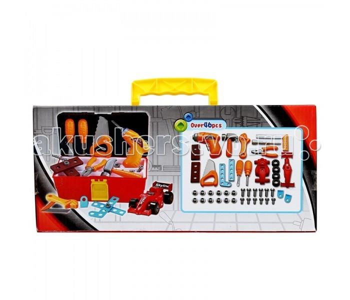 Подробнее о Ролевые игры Shantou Gepai Набор инструментов в чемодане 46 предметов набор инструментов в чемодане