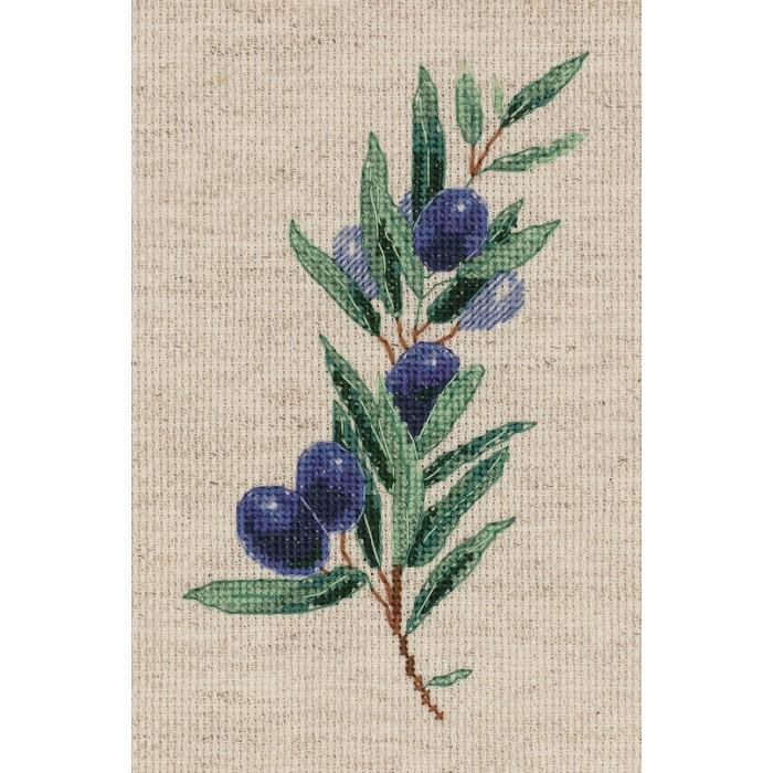 Фото - Наборы для вышивания Klart Набор для вышивания Веточка оливы набор для вышивания acufactum осенние