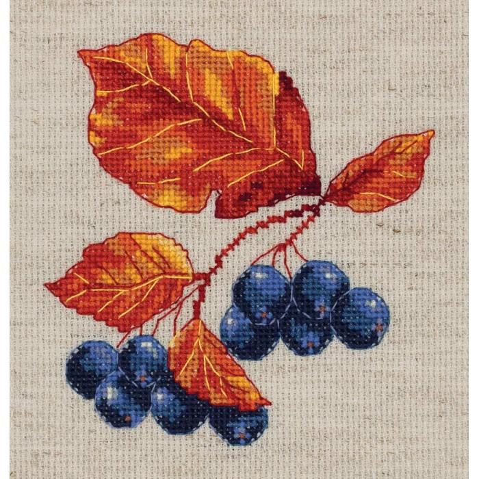 Наборы для вышивания Klart Набор для вышивания Веточка черноплодной рябины klart набор для вышивания klart носочек с оленем