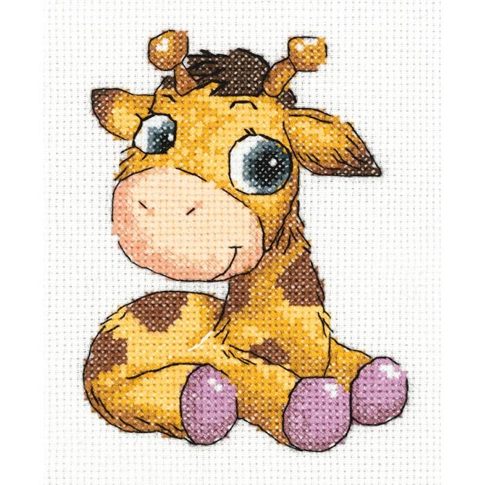 Фото - Наборы для вышивания Klart Набор для вышивания Жирафик Лучик набор для вышивания acufactum осенние