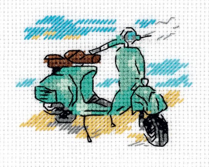 Наборы для вышивания Klart Набор для вышивания Зарисовки. На берегу