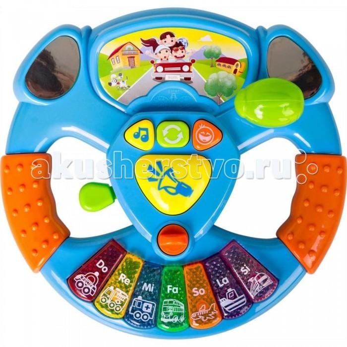 Электронные игрушки Shantou Gepai Руль музыкальный детский музыкальный инструмент shantou gepai аккордеон 63717