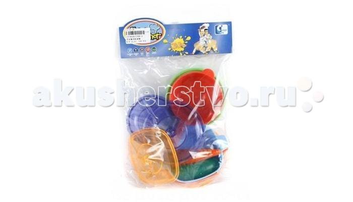 Ролевые игры Shantou Gepai Набор посуды с продуктами набор посуды shantou gepai набор посуды и продуктов в корзине