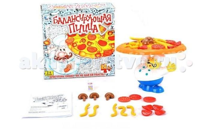 Игры для малышей Shantou Gepai Настольная игра Балансирующая пицца настольная игра баскетбол shantou gepai 63788