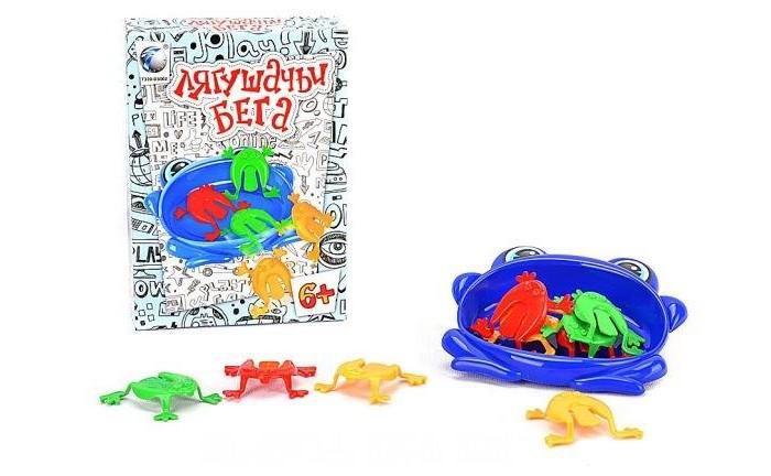 Настольные игры Shantou Gepai Настольная игра Лягушачьи бега