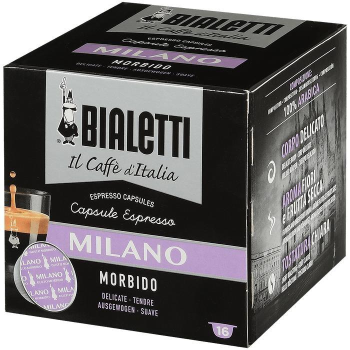 Bialetti Кофе Milano капсулы для кофемашин 16 шт.