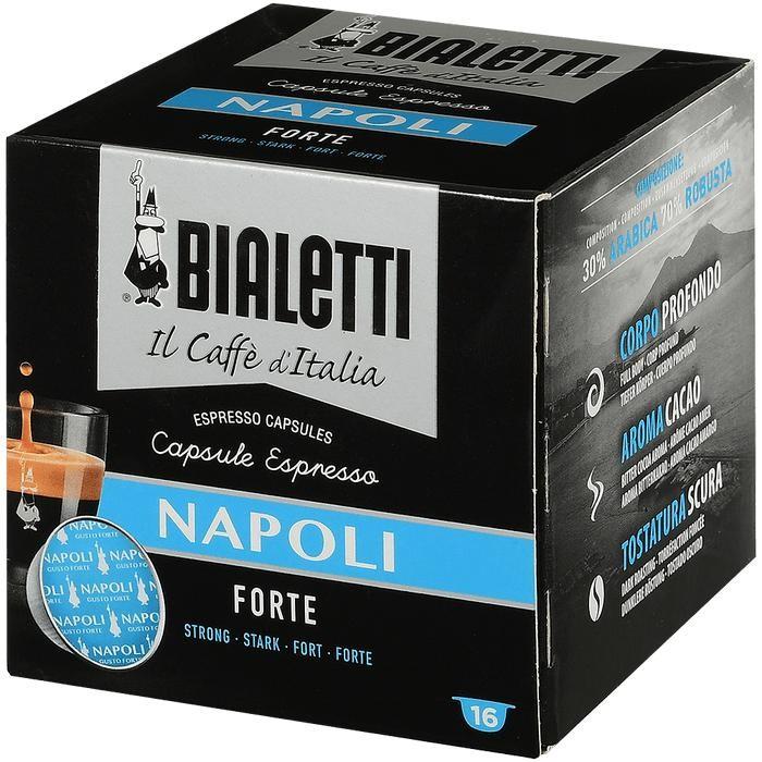 Bialetti Кофе Napoli капсулы для кофемашин 16 шт.