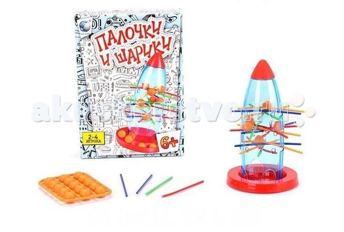 Настольные игры Shantou Gepai Настольная игра Палочки и шарики игры для малышей shantou gepai настольная игра мышиная охота
