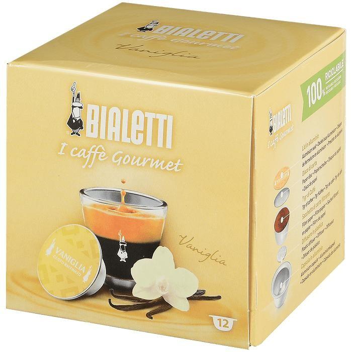 Bialetti Кофе Vanilla капсулы для кофемашин 12 шт.