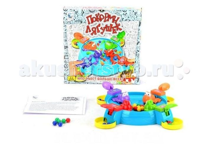 Игры для малышей Shantou Gepai Настольная игра Покорми лягушек настольная игра баскетбол shantou gepai 63788