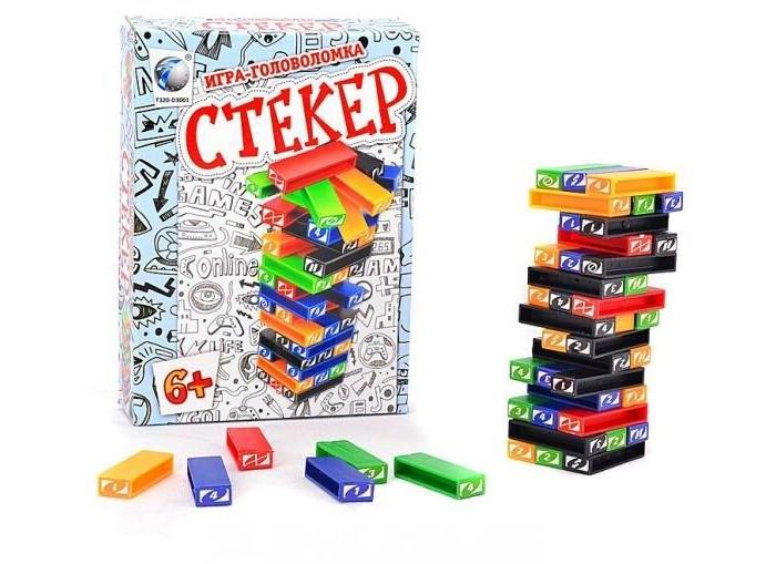 Настольные игры Shantou Gepai Настольная игра Стекер настольная игра лигретто зеленый