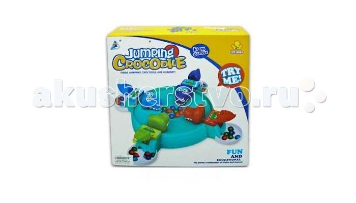Игры для малышей Shantou Gepai Настольная игра Зообильярд Крокодильчики настольная игра shantou gepai баскетбол 21788