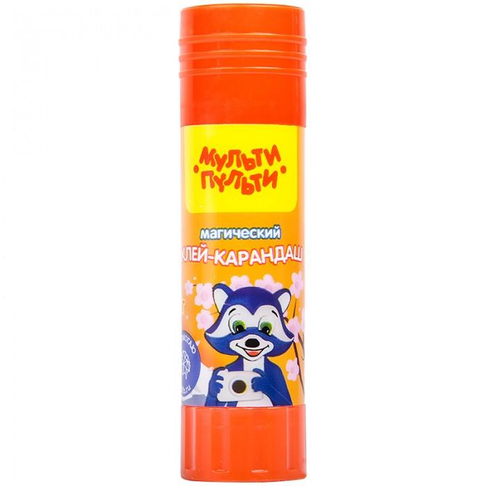 цена на Канцелярия Мульти-пульти Клей-карандаш Енот в Японии с цветным индикатором 15 г