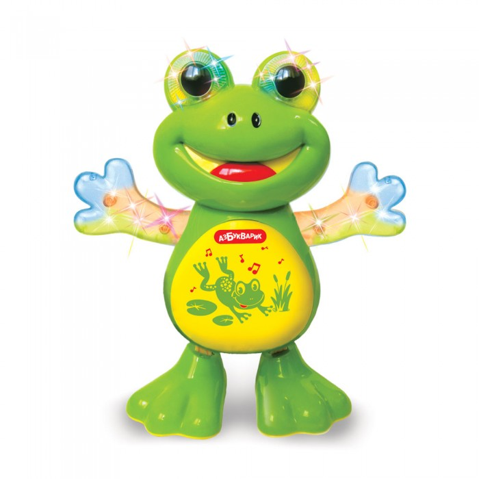 Азбукварик танцующая лягушка 2036
