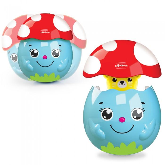 Электронные игрушки Азбукварик музыкальный Грибочек-сюрприз азбукварик игрушка азбукварик сказки музыкальный домик