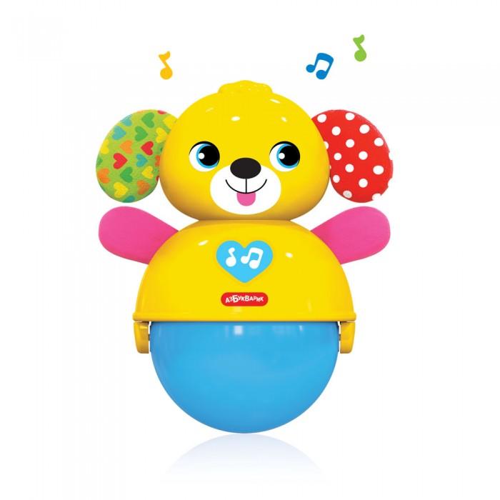 Купить Электронные игрушки, Азбукварик Собачка Неваляшка-покатушка Люленьки