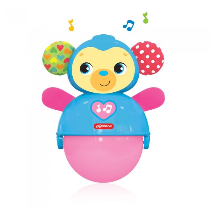 Купить Электронные игрушки, Азбукварик Обезьянка Неваляшка-покатушка Люленьки