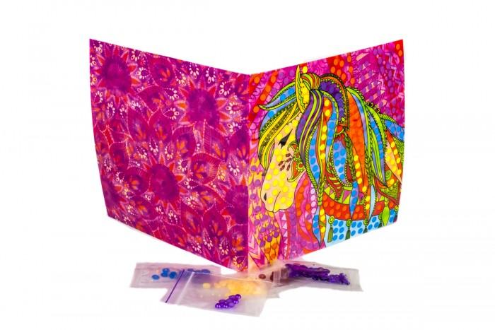 Картины своими руками Ракета Картина из пайеток индийский стиль Лошадь, набор №10 картины своими руками ракета картина из пайеток индийский стиль машина набор 14