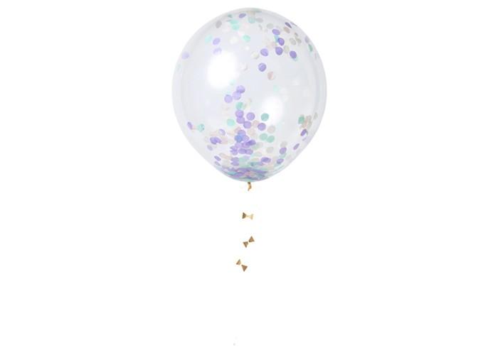 MeriMeri Воздушные шары с конфетти Пастель